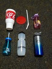 Sports Water Bottles, Coke Cup/Bottle, Disney and Clash of Clans Bottles