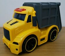 GARBAGE BIN TRUCK WITH LIGHTS, SOUND FRICTION POWER TOYS AGES 3+