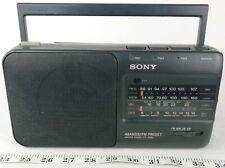 Sony ICF-990L 4 Band Radio (FM/MW/LW/SW) With FM Preset - Vintage - Retro