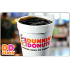 Dunkin' Donuts Gift Card - $25 $50 Or $100 - Email Delivery For Sale