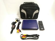 Sony 7 Inch DVP-FX750 WideScreen Portable DVD CD MP3 Player Car Adapter Black