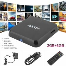 M8S S812 2GB 8GB 7.1 Octa Core Android TV Box 2.4 5Ghz WIFI UHD 4K UK Warehouse