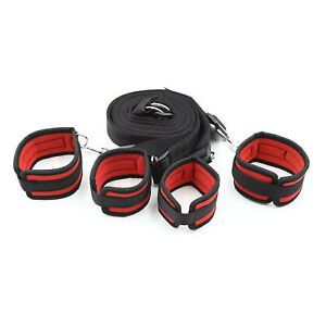 Sex Slave Bondage Role Play Under the Bed Restraints System Handcuffs Ankle Cuff