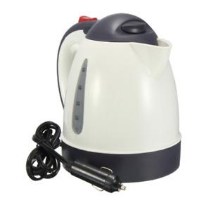 12V 1L Car Electric Kettle Insulation Anti-Scald Travel Coffee Pot Tea Heater US