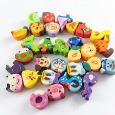 98pcs Multi-colors Mini Rubber Cartoon Animal Crafts Accessories 12*10*6mm 51863