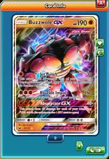 Buzzwole GX Regular Art 57/111 Pokemon TCG Online (Digital card) PTCGO
