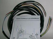 IMPIANTO ELETTRICO ELECTRICAL WIRING MOTO GUZZI STORNELLO SCRAMBLER 125+SCHEMA