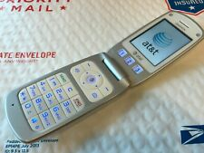 Pantech Breeze - C520 - White (AT&T) Basic Flip Cell Phone - Works