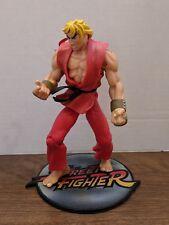 Resaurus Toys Capcom Street Fighter Ken Loose Displayed 1999