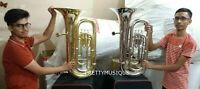 TUBA IN EB PITCH MADE OF PURE BRASS + HARD CASE+ FREE SHIPPING ( ANY ONE COLOR )