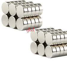80 Neo Strong Disc Magnets 5mm Dia x 3mm Small Rare Earth Neodymium