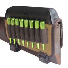 Tourbon Rifle Buttstock Holder for Left Handed Gun Cheek Piece Rest Pad Hunting