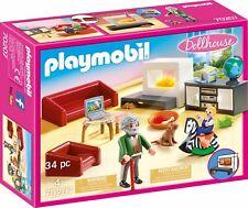 """PLAYMOBIL® Dollhouse 70207  """" Gemütliches Wohnzimmer """", NEU & OVP"""