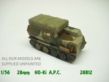 wargames vehicles.  WW2 Japanese Ho-Ki  APC.1/56  28mm QUICKIT (812)