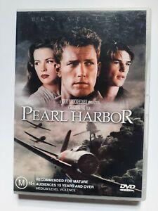 Pearl Harbor DVD - Ben Affleck - Very Good Condition - Free Post - Region:4