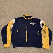 VTG Michigan Wolverines Starter Lined Windbreaker Jacket NCAA Men's Large