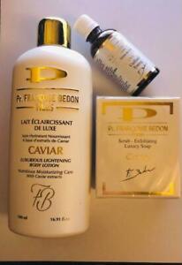 Pr.FRANCOISE BEDON CAVIAR LIGHTENING LOTION, SERUM, SOAP *New & Original*
