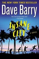 Insane City by Dave Barry--LARGE p/b++The Canvas Dagger,Helen Reilly,collector