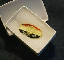 NAM ERA VIETNAM WAR TROPHY MEMORIAL butterfly clip post PIN: SAIGON COUNTRY CLUB