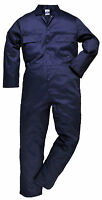 Portwest Mens Boilersuit Overall Coverall Workwear Mechanics Student S999