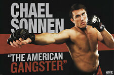 "UFC CHAEL SONNEN  POSTER ""LICENSED"" BRAND NEW"