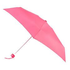 Totes Mini Fino Redondo paraguas - coral