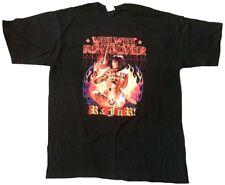 Rar velvet revolver tour 2004 2005 sexy GUN woman rock star Official t-shirt xl