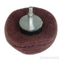 Dome Sanding Mop 50mm 240 Grit Hardwearing nylon fibre mop