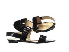 RRP $180 WITCHERY BLACK  PATENT LEATHER  SANDALS SHOES 9
