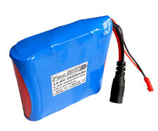 14.4V Protected Li-ion Battery SANYO 18650 2600mAh for LED solar light 4S1PB US