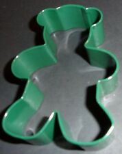 "Teddy Bear shaped Cookie Cutter by Wilton 3.75"" x 2.75"" baby shower almost"