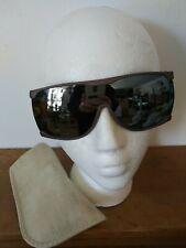 Vtg Women's I Ski Polarized Ski Glasses with Leather Case