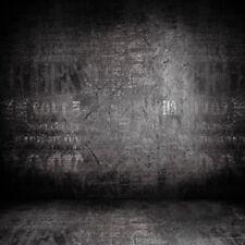 Black Shadow Wall Vinyl Photo Backdrops Photography Background 8x8FT