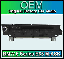 BMW 6 Series E63 M-ASK MK2 BMW 6 Series car stereo, Radio MP3 CD player