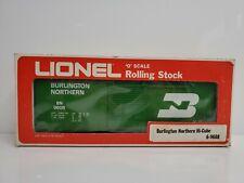 Lionel Trains 6-9608 Burlington Northern Hi-Cube Box Car Green Sprung Trucks USA