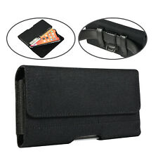 Cellphone Belt Clip Loops Case Holster Pouch Holder w/ Card Slot for LG Stylo 4