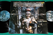 Iron Maiden - The X- Factor BRAZIL 1st press 2LP 1995 Simple Cover