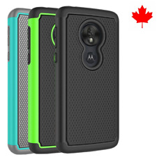 Fits Motorola Moto G7 Play Case Shockproof Rugged Impact Hybrid Armor Cover