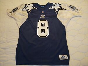 Authentic On Field Apex One Dallas Cowboys Troy Aikman Jersey Large Double Star