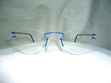 Titanium, eyeglasses, rimless, square, oval, frames, men's, women's NOS vintage