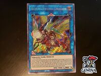 YuGiOh! Borrelsword Dragon BLHR-EN071 Secret Rare 1st Edition NM