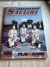 2001-02 Saluki S Illinois 50th Anniversary Basketball Program Media Guide N4