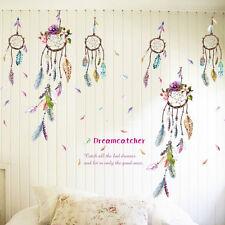 Traumfänger Feder Kinder Wand Sticker Aufkleber Glück Schlafzimmer Heim