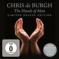 CHRIS DE BURGH - THE HANDS OF MAN (LIMITED DELUXE EDITION) CD + DVD NEW