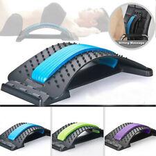 Back Massagers Stretcher Fitness Lumbar Waist Spine Pain Relief Support Health