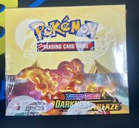 Pokemon S&S DARKNESS ABLAZE Factory Sealed Booster Box