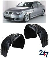 NEW BMW 5 SERIES E60 E61 LCI M SPORT FRONT BUMPER WHEEL ARCH COVER PAIR SET