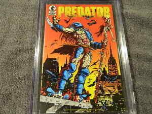 1989 DARK HORSE Comics PREDATOR #1 - 1st ap. of PREDATOR In Comics - CGC 9.0