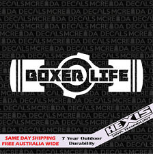 The Boxer Life - Boxer Engine Sticker Decal For Subaru WRX STi JDM BRZ Scion