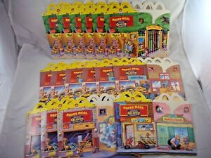 Mcdonalds Happy Meal Disney Oliver & Company Boxes